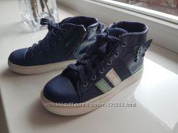 Clarks ботинки для девочки 28 размер UK 10 F стелька 18 см