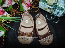 Гламурные пинетки-туфельки по ст. 11 см. мега выбор обуви и одежды