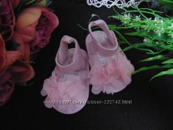 Нарядные босоножки пинетки Primark ст. 11см. мега выбор обуви и одежды