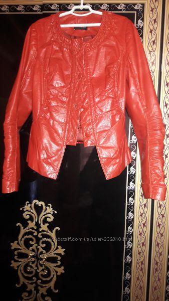 Куртка кожаная Кожаный пиджак