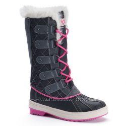 Сапоги Totes Suri Winter Snow BOOTS, черно-розовый