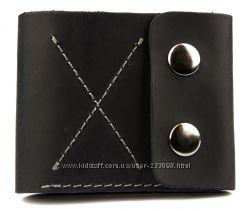 Мужские кошельки Black Brier. Натуральная кожа. Сделано в Украине