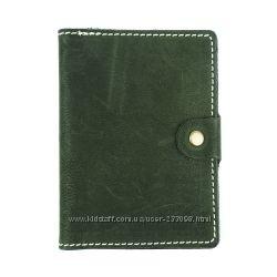 Обложка для паспорта и загран. паспорта. Кожа. Сделано в Украине.