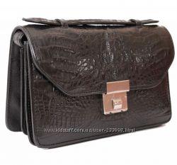 Мужские сумки, барсетки, портфели с натуральной кожи крокодила.