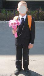 Черный костюм на мальчика ф. Les garcon Италия р. 8лет рост 128см