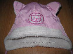 Польская зимняя шапочка девочке 46 р