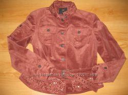 Женская вельветовая курточка деми
