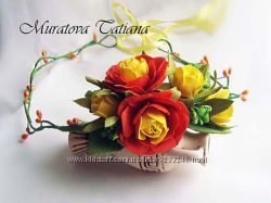 Цветочные  украшения для свадеб, фотосессий, торжеств