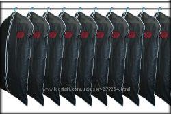 Чехлы для одежды с окошком. 10 штук