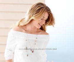 Летняя блуза хлопок 36-38евро 44наш TCM Tchibo