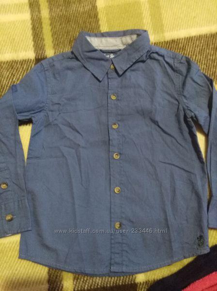 Красивая рубашка 92-98 TCM Tchibo
