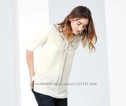 Очень красивая блуза 48-50евро 54-56наш Tchibo TCM