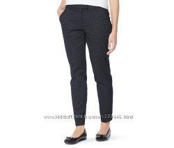 Стильные брюки принт 36евро 42-44наш Tchibo TCM