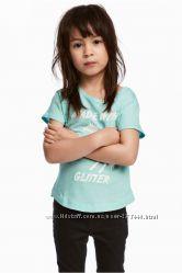 Стильные футболочки H&M 8-10лет рост 134-140