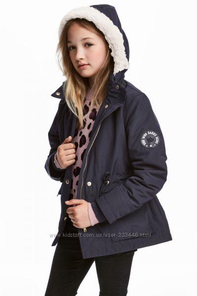 Стильная куртка парка 11-12лет 152рост H&M
