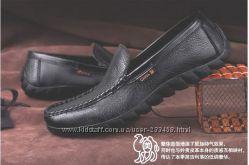 Акция Мужские туфли из натуральной кожи Camel  вторая и третья модель