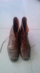 кожаные итальянские ботинки дешево