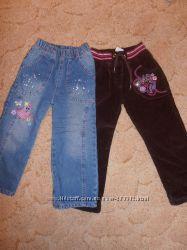 штаны и джинсы на флисе
