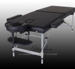Массажный стол DIO Art of Choice алюминиевый  беж, фиолетовый цвета