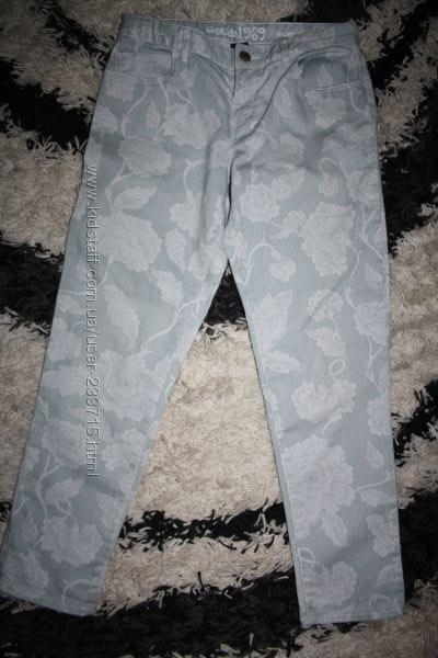 Супер джинсы укороченные на 13 лет