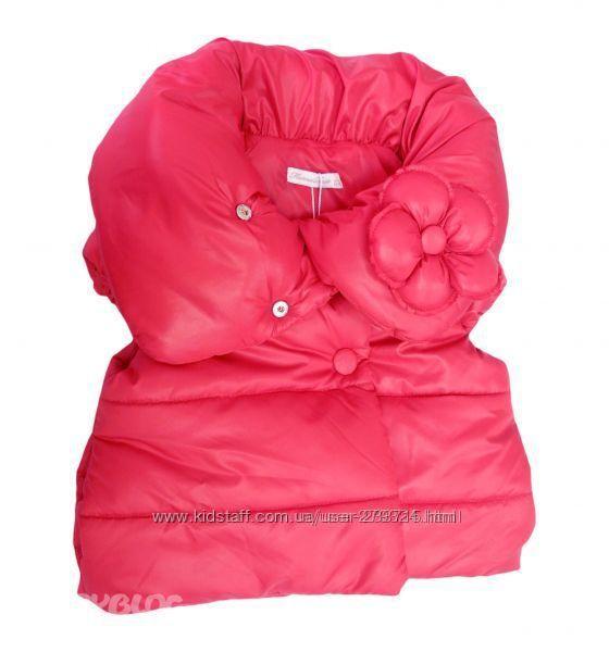 Шикарная жилетка Monna Rosa для модницы 2-3лет