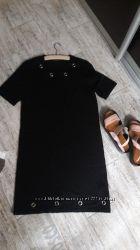 Легкое платье-короткий рукав
