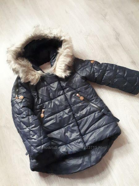 Красивая и стильная куртка евро зима