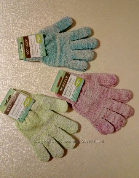 Мочалка-перчатки для душа EcoTools
