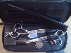 Парикмахерские профессиональные ножницы  TG расчёска