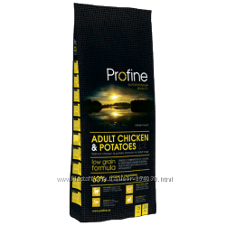 Profine ADULT CHICKEN & POTATOES Профайн курица и картофель корм для собак