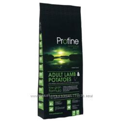 Profine Adult Lamb&POTATOES Профайн с ягненком для взрослых собак корм