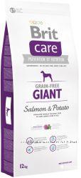 Brit Care Grain Free Salmon & Potato Корм для собак с лососем Брит Каре
