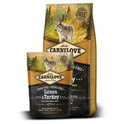 Корм для собак крупных пород Carnilove Adult Large Breed Salmon & Turkeу
