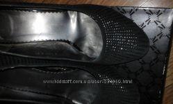 Продам туфли натуральная замша с паетками