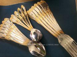 столовые, приборы, ложка, вилка, нож, чайная ложка, столовые приборы