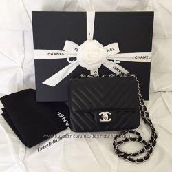 af385c86 Сумки Chanel Chevron Flap Mini кожа, 1949 грн. Женские сумки ...