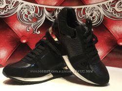 Кроссовки женские Louis Vuitton чёрные