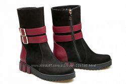 Модная кожаная обувь ТМ La Rose с Караван
