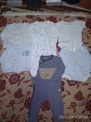 Пакет одежды на мальчика 1-3 месяца