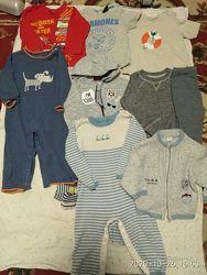 Пакет одежды на мальчика 9-12 месяцев
