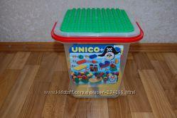 Unico Пираты, в ведре-контейнере, совместимый с Lego Duplo