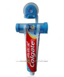 Дозатор - держатель для  зубной пасты или других тюбиков