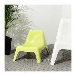 ИКЕЯ-БУНСЁ Детское садовое кресло, желтый