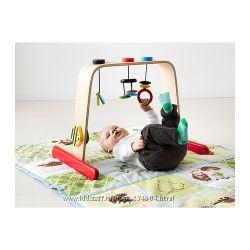 ИКЕЯ -ЛЕКА Тренажер для младенца, береза, разноцветный