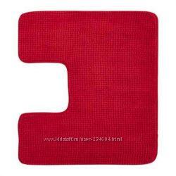 ТОФТБУ Коврик в туалет красный, голубой ниже цены сайта