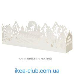 ИКЕА СТРОЛА, Декоративная подсветка, светодиодн, деревня белый.