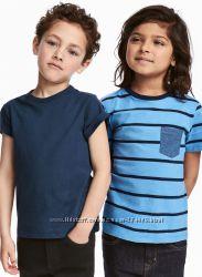 Комплект футболок H&M цена за 2 шт. От 2 до 10 лет