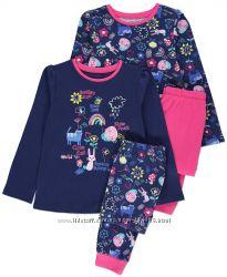 Фирменная пижама девочке George р. 3-4 года