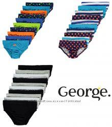 Фирменные трусы, трусики мальчику George Джордж Англия от 4 до 11 лет