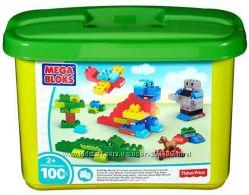 Конструктор большой Mega blоks Building Blocks Tub